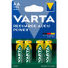 4 x Varta Ready2use R6 AA Ni-MH rechargeable Batteries 2100 mAh